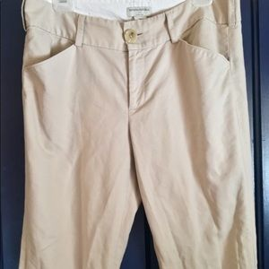 Banana republic stretch khakis/12